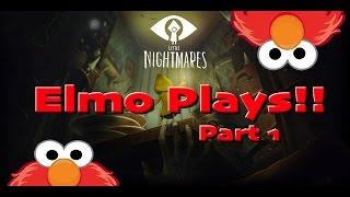 Elmo Plays Little Nightmares - Part 1
