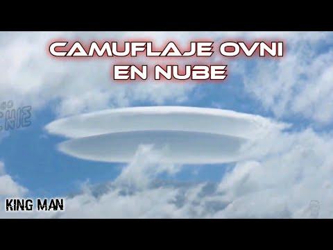 OVNI camuflado en una Nube de Irlanda