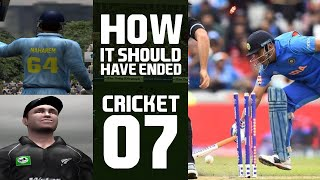 Played Cricket 07, But with a Small Twist | Chai Bisket Gaming | Chai Bisket