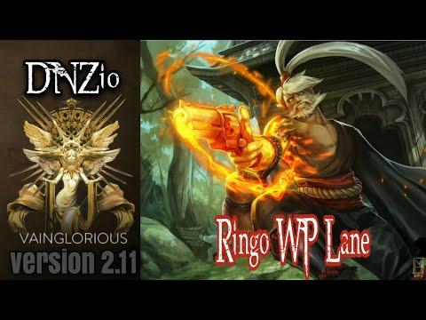 DNZio | Ringo WP Lane - Vainglory Hero Gameplay From A Pro Player