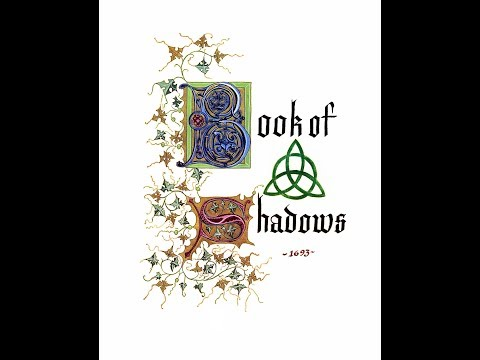 Charmed Book Of Shadows On Screen Only Pages