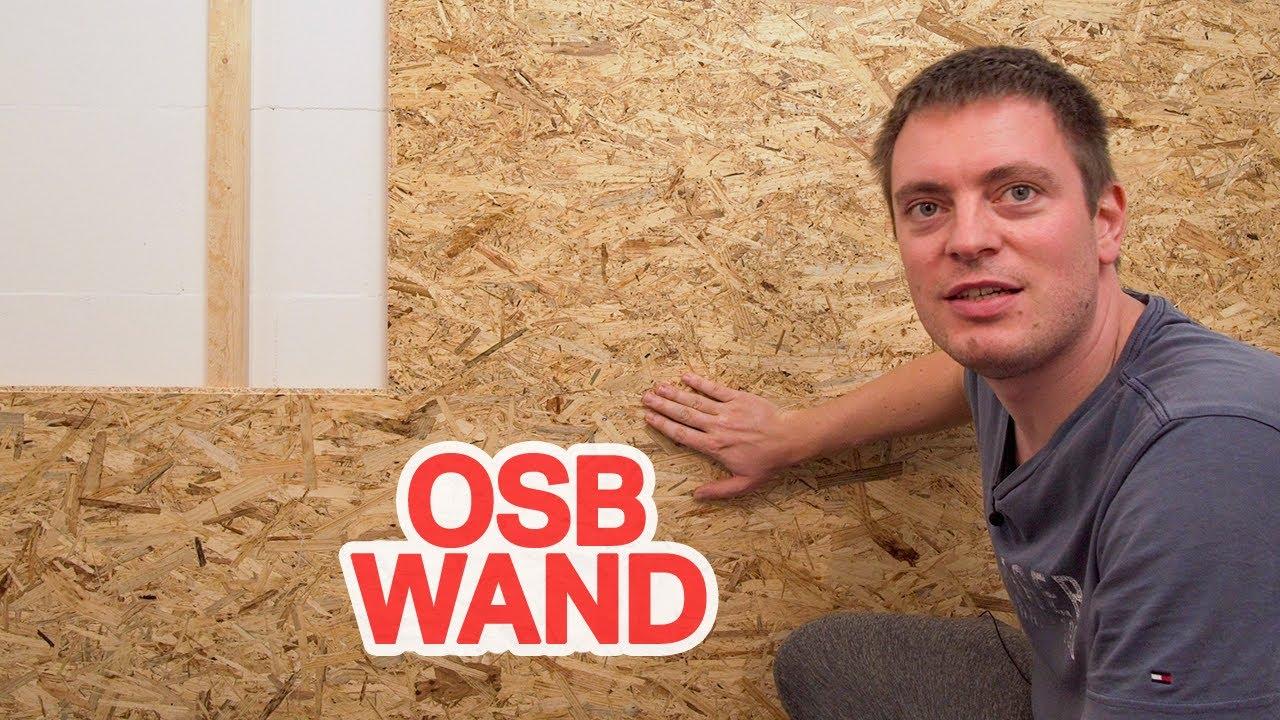 Gut gemocht OSB Platten verlegen und verputzen - Innen und Außenbereich ET69