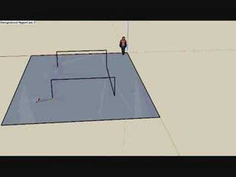 How to make a Half-PIpe in Sketchup (2 different ways)