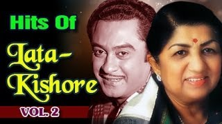 Best of Lata Mangeshkar & Kishore Kumar Duets | Evergreen Romantic Bollywood Songs - Vol 2