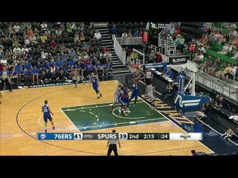 Philadelphia 76ers vs San Antonio Spurs | July5, 2016 | NBA Utah Summer League 2016