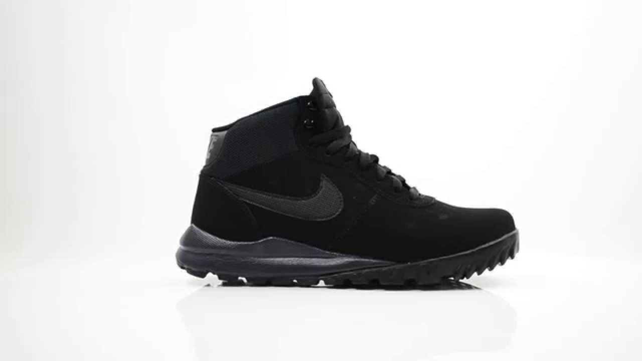 Nike Hoodland Suede Men's Walking Boots Black