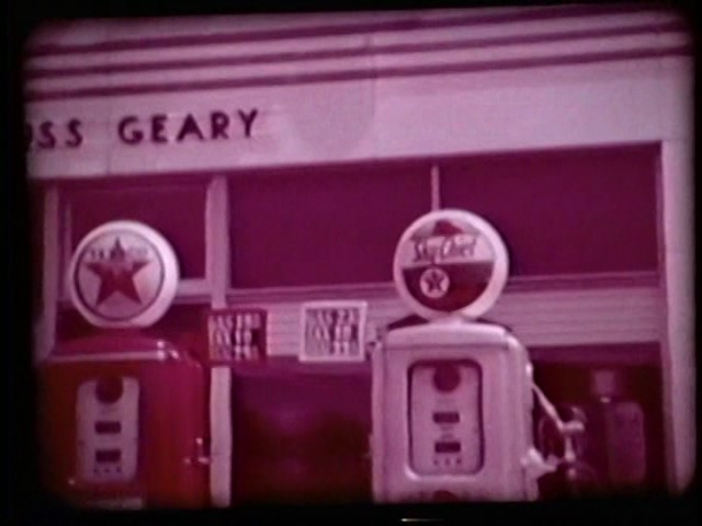 Texaco Gas Station - The Man in the Star (1962)