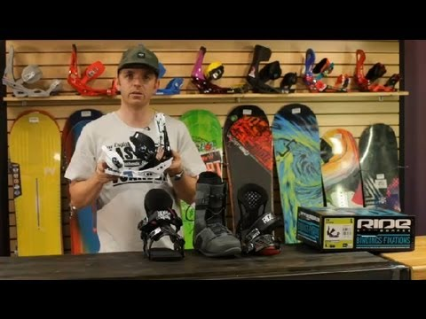 The Difference Between Small & Large Snowboard Bindings : Snowboard Maintenance