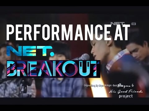 Bagus & His Good Friends Live Acoustic Performance at Breakout NET TV