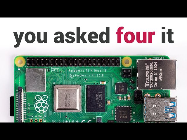 The Raspberry Pi 4 is Here — And It's a BEAST! - OMG! Ubuntu!