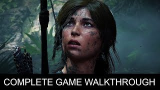 Shadow of the Tomb Raider Complete Game Walkthrough Full Game Story (1080p 60 FPS)