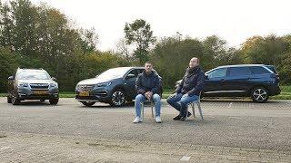 ANWB Triotest Peugeot 5008 vs Opel Grandland X vs Subaru Forester 2017