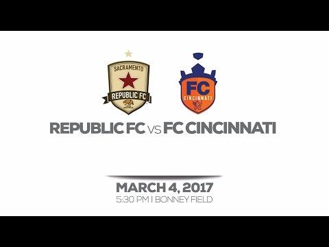 Sacramento Republic FC vs FC Cincinnati