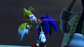 Dark Super Sonic V.S. Sonic.EXE - The Race - ALTERNATE ENDING [Animation] ソニック v. ソニック
