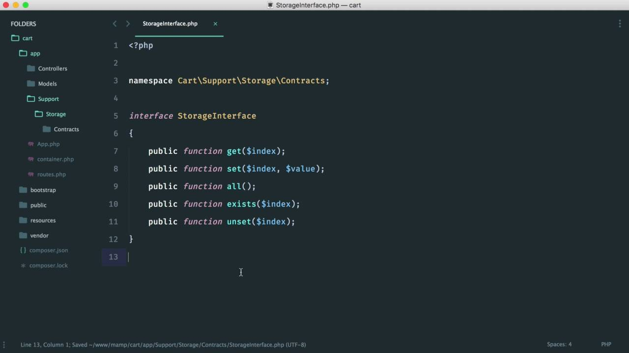 Build A Shopping Cart with PHP: Adding items (7/15)