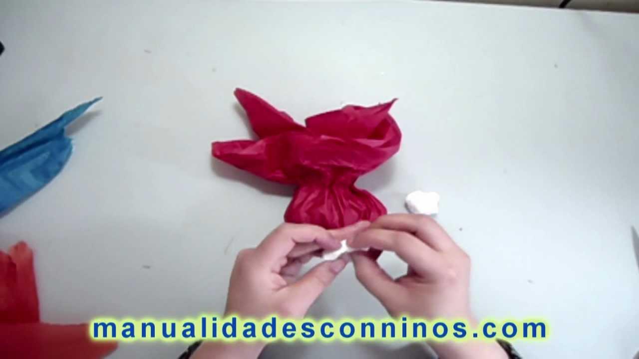 Como hacer una bolsa de golosinas para decorar - Como decorar una ensaladilla rusa ...