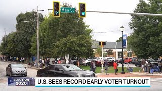 Early U.S. Voters Experience Raft of Issues