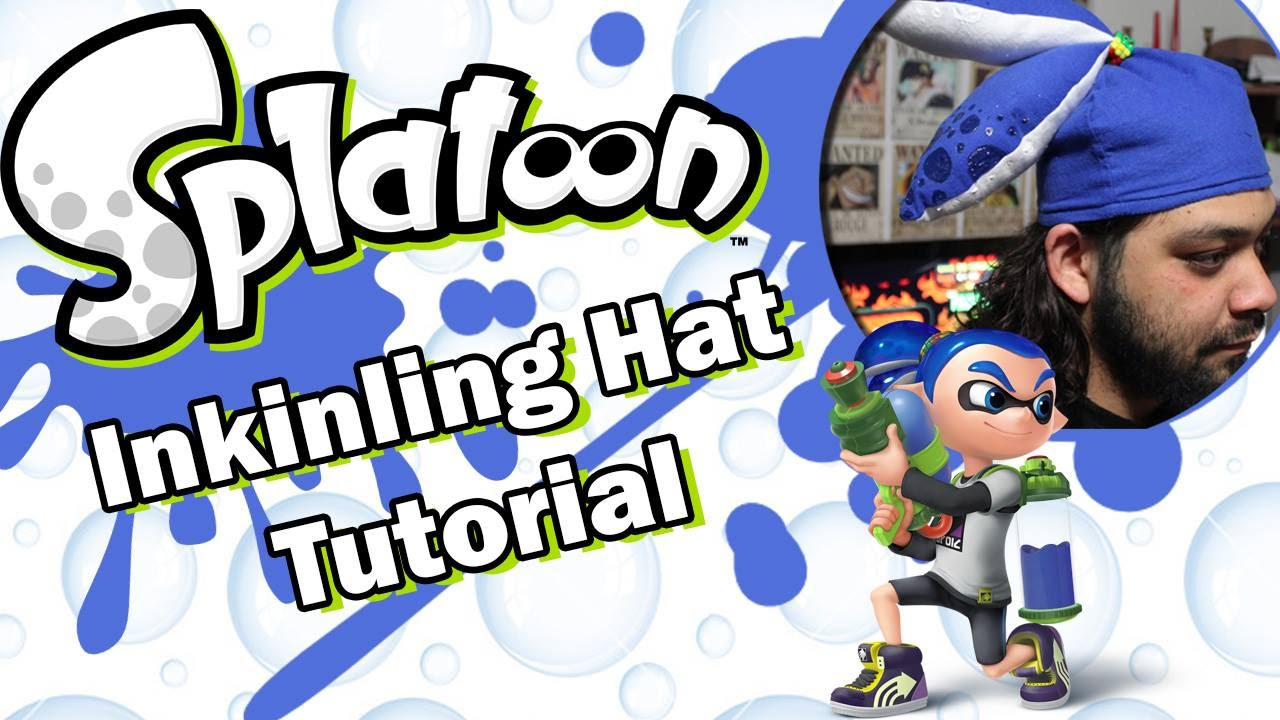 Splatoon Inkling Hat Tutorial