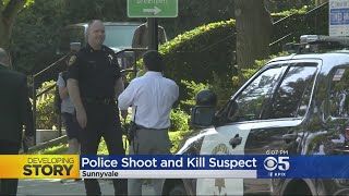 Sunnyvale Officer Fatally Shoot Suspect Who Killed Police K-9, Stabbed Woman