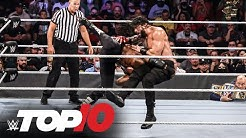 Top 10 Raw moments WWE Top 10 Sept 20 2021