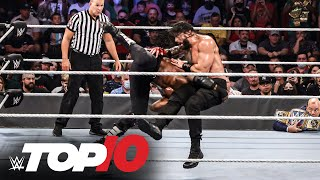 Top 10 Raw moments: ẄWE Top 10, Sept. 20, 2021