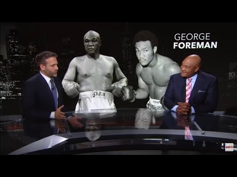 """Floyd Money Mayweather THE GREATEST BOXER OF ALL TIME Below Middleweight"" George Foreman"