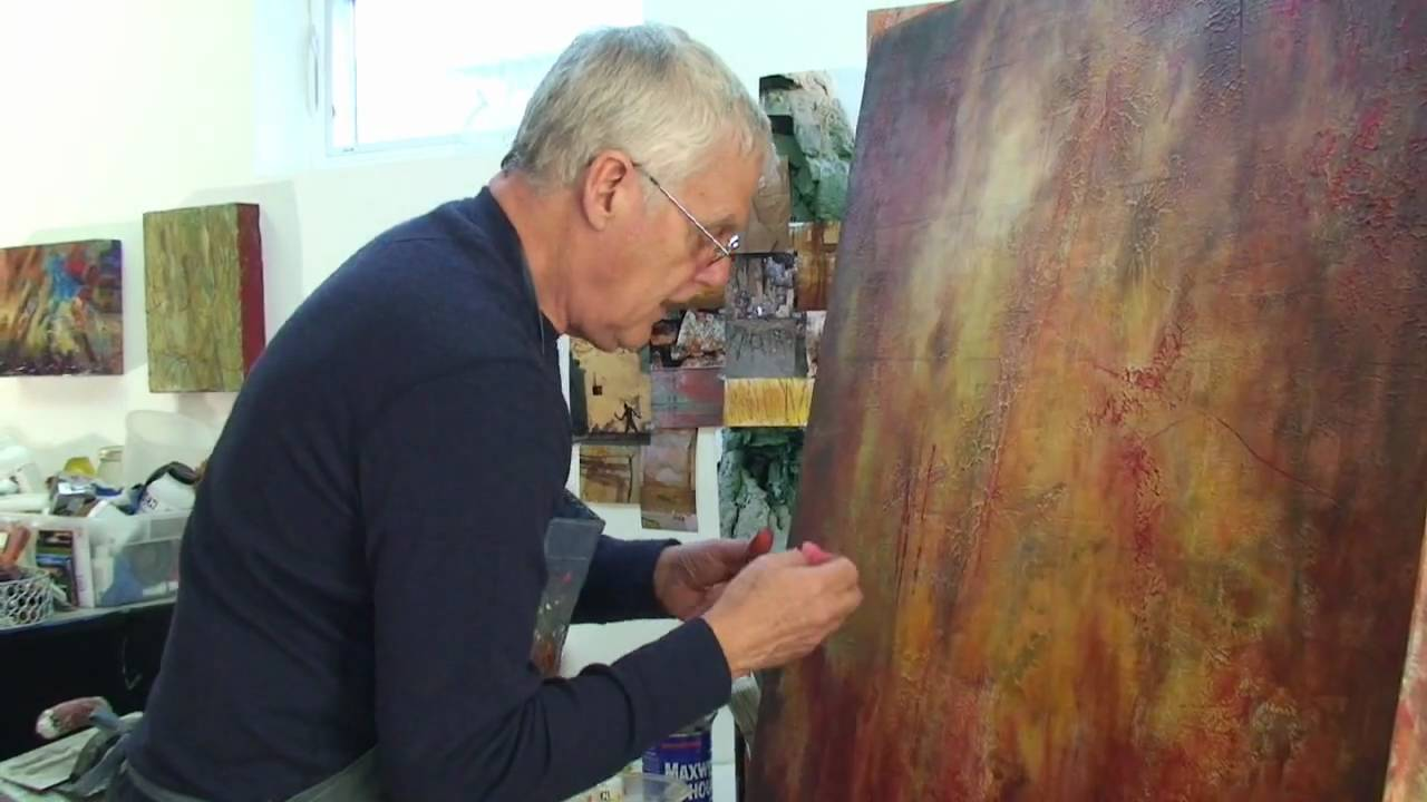 santa fe abstract painter bill jackson