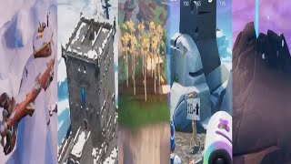 VISIT THE 5 HIGHEST ELEVATIONS ON THE ISLAND *LOCATIONS* Fortnite Week 6 Season 8 Challenge