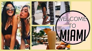 WELCOME TO MIAMI! Vacation Vlogs 2017 !