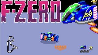 FZero (SNES) | Grand Prix Mode | Blue Falcon | All Leagues | Expert/Master Class | nenriki86