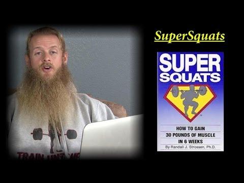 PROGRAM REVIEW part 2: The Juggernaut Method, SuperSquats (20 rep Squat Routine)
