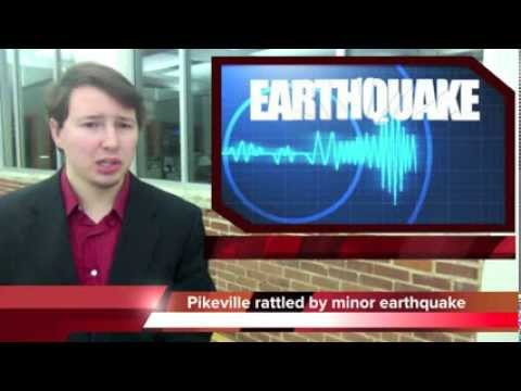 Earthquake shakes Bledsoe County, Tennessee