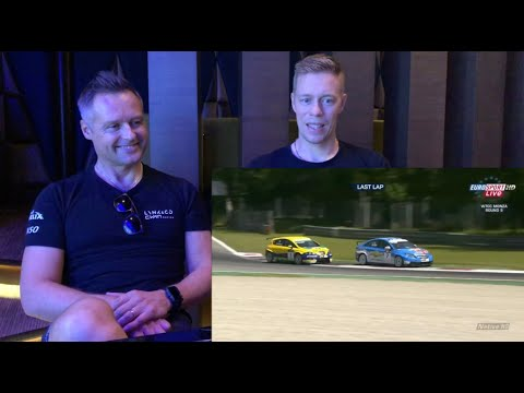 Cyan Racing Reactions: Andy Priaulx And Thed Björk Re-live Touring Car Action
