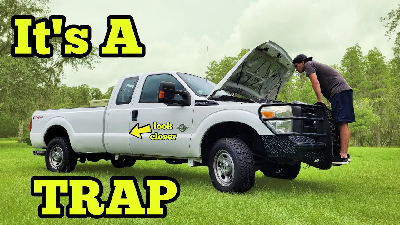 They're Auctioning Off Powerstroke Ford F250 4x4's for 50% Off, But Its Still NOT Worth It