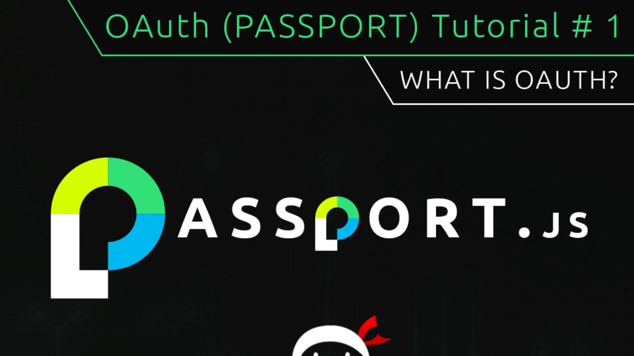 OAuth Login (Passport js) Tutorial #1 - What is OAuth?
