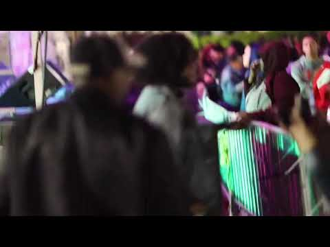 Davon Fleming performs at light city