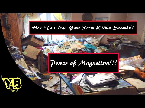 How To Clean Your Room Within Seconds