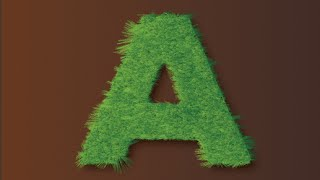 Quick and easy tutorial : Create Vector Grass Text in Adobe Illustrator