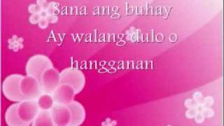 Amy Nobleza - Sana - Mutya Theme Song [[W/LYRICS]]