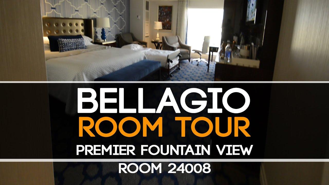 Bellagio 2 Bedroom Suite Bellagio Premier Fountain View Room 24008 Youtube