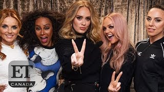 Adele At Spice Girls Concert
