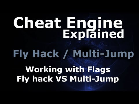 Cheat Engine - Fly Hack / Multi-Jump