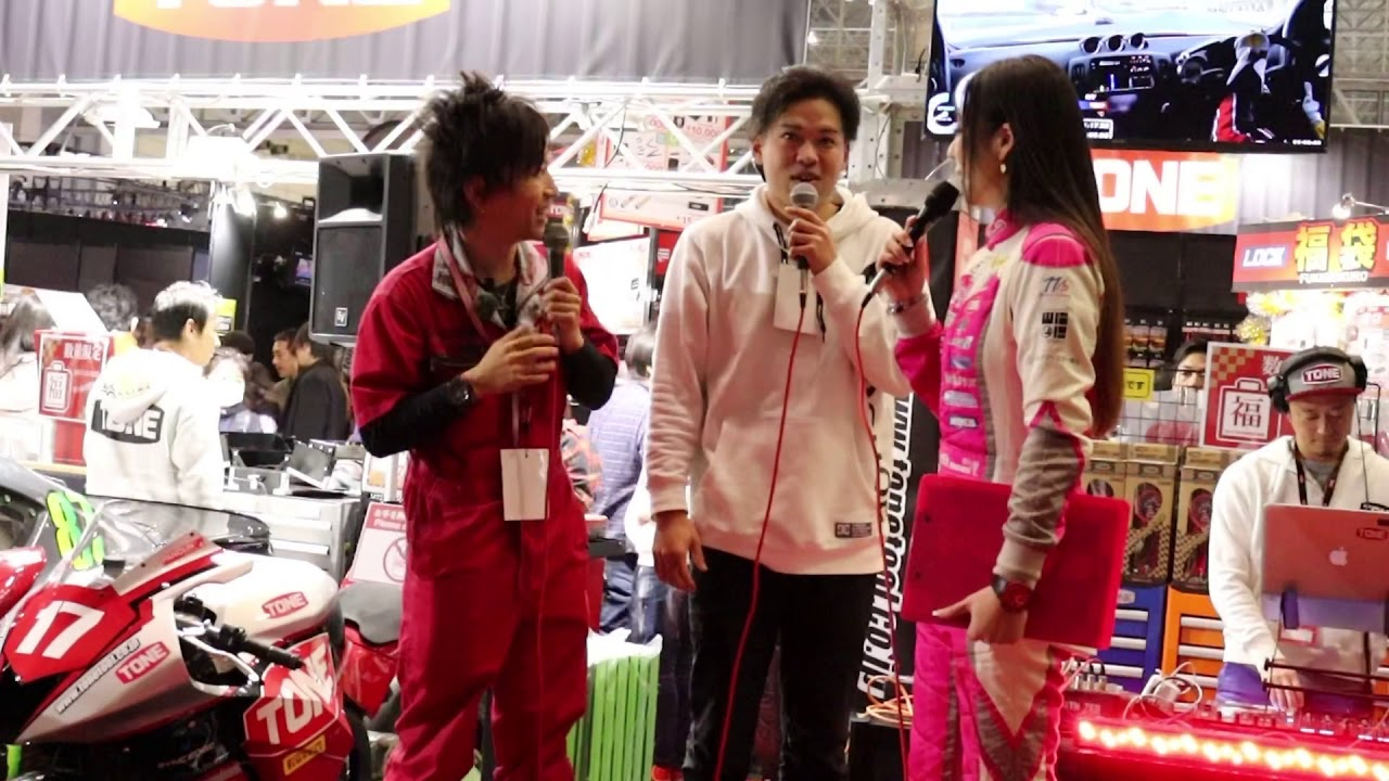 東京オートサロン2020  ROCKブーストークショー