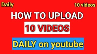 free videos to upload on youtube