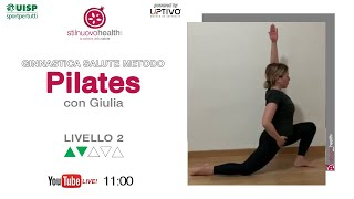 Ginnastica Salute Metodo Pilates - Livello 2 - 6 (Live)