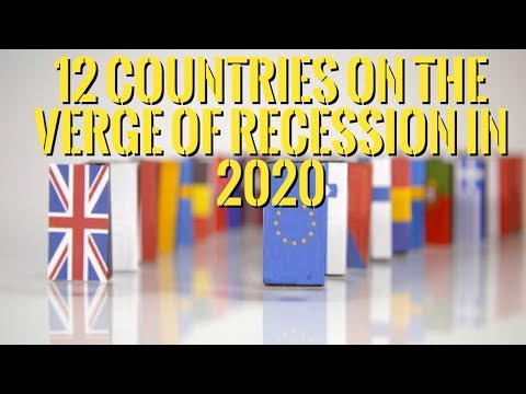 👉Top 12 Countries On The Verge of Recession in 2020.