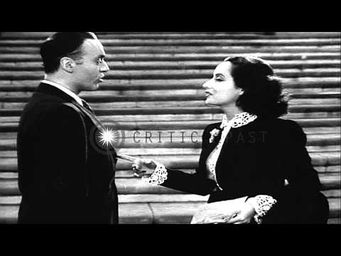 French actor Charles Boyer and British actress Merle Oberon