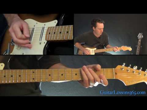 Bruce Springsteen - Glory Days Guitar Lesson
