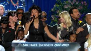 Michael Jackson Memorial - Heal The World (HD)