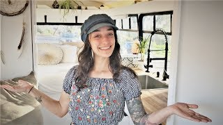 Full Tour: Luxurious Off-Grid Shuttle Bus Build Converted in 2 Months!